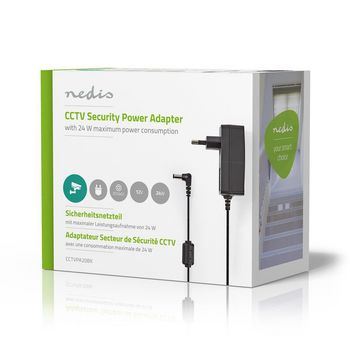 CCTV Power Adapter | 12V DC | 2000 mA | 5.5 x 2.1 DC Connector