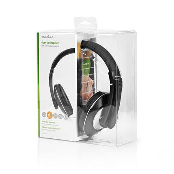 PC Headset | Over-ear | Microphone | Double 3.5mm Connector