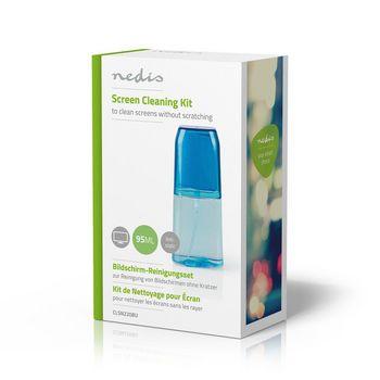 Kit de Limpieza para Pantallas | Televisor | Smartphone | Tableta | 95 ml | Azul