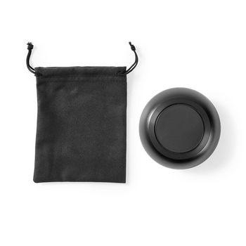 Record Cleaning Brush | Anti-Static | Disc Grip | Black