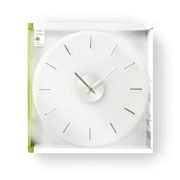 Circular Wall Clock | 40 cm Diameter | Elegant | Glass
