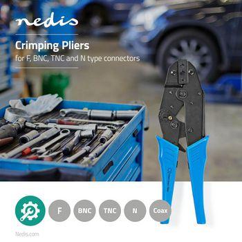 Crimping Pliers | RG58/59 | F, BNC, TNC and N Connectors