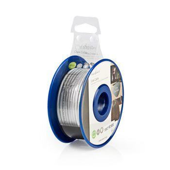 Coax Cable | Mini Coax | 10.0 m | Mini Reel | White