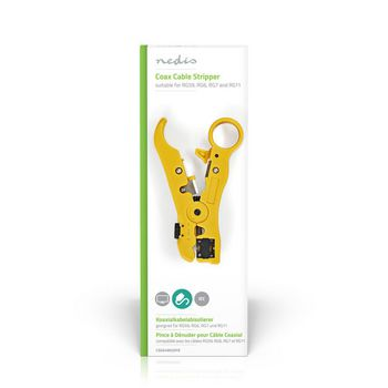 Coax Cable Stripper RG59 - RG6 - RG7 - RG11