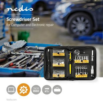 Toolkit | 47-in-1 | for PC & other Electronic Devices