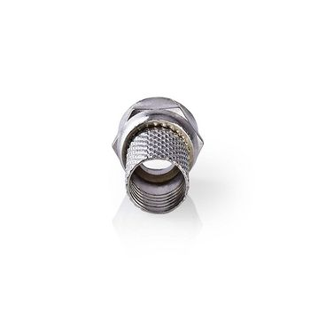 Connettore F | Maschio | Per Cavi Coassiali da 6,4 mm | 25 pezzi | Metallo