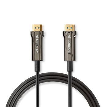 Ultra High Speed HDMI™-Kabel | AOC | HDMI™-Connector - HDMI™-Connector | 200 m | Zwart