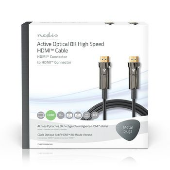 Ultra High Speed HDMI™ Cable | AOC | HDMI™ Connector - HDMI™ Connector | 30.0 m | Black