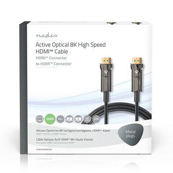 Ultra High Speed HDMI™-Kabel | AOC | HDMI™-Connector - HDMI™-Connector | 50,0 m | Zwart