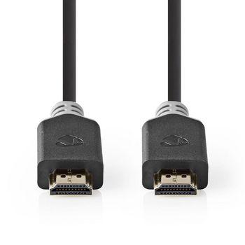 Câble HDMI™ Haute Vitesse Premium avec Ethernet | Connecteur HDMI™ vers Connecteur HDMI™ | 3,00 m | Anthracite