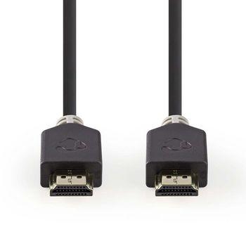 Cable HDMI™ de Velocidad Ultrarrápida | Conector HDMI™ a Conector HDMI™ | 1,00 m | Antracita