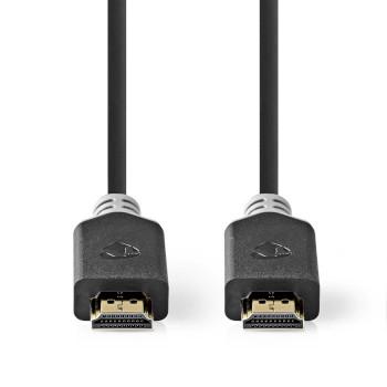 Premium Høyhastighets HDMI™-Kabel med Ethernet   HDMI™-Kontakt - HDMI™-Kontakt   3,00 m   Antrasitt