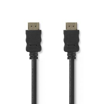 High Speed HDMI™ Cable with Ethernet | HDMI Connector - HDMI Connector | 1.0 m | Black