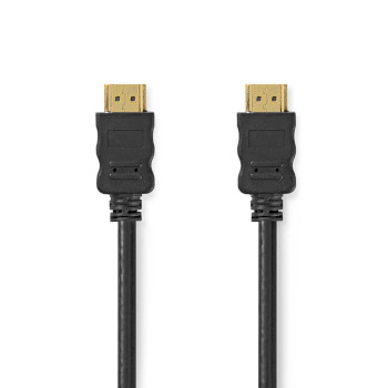 High Speed HDMI™ Cable with Ethernet | HDMI Connector - HDMI Connector | 2.0 m | Black