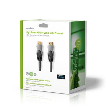 High Speed HDMI™-Cable Ethernet   HDMI™-connector - HDMI™-connector   15.0 m   Anthracite