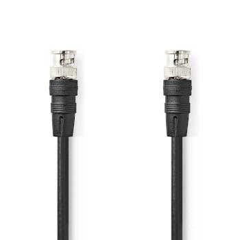 BNC Video Cable | BNC Male - BNC Male | 2.0 m | Black