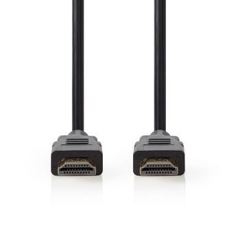Premium High Speed HDMI™ Cable with Ethernet | HDMI™ Connector - HDMI™ Connector | 0.50 m | Black