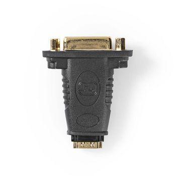 HDMI - DVI Adapter   HDMI Female - DVI-D 24+1-pin Female   Black
