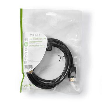 Cable HDMI™ de Velocidad Ultrarrápida | Conector HDMI™ a Conector HDMI™ | 2,00 m | Negro