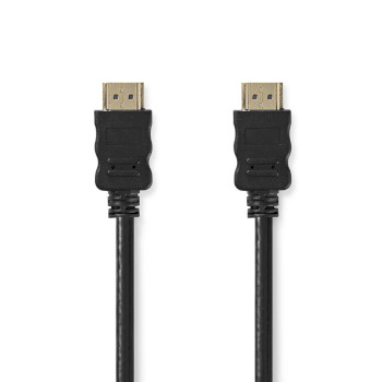 High Speed HDMI™ Cable with Ethernet | HDMI™ Connector - HDMI™ Connector | 10 m | Black