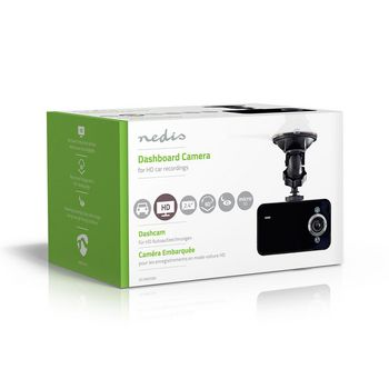 """Dash Cam   HD 720p   2.4""""   60° Viewing Angle"""