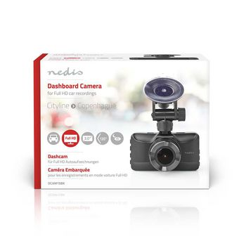 Dash Cam | 1080p@30fps | 12.0 MPixel | 3.0 "
