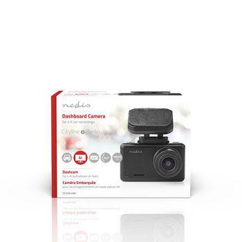 "Dash Cam | 4k@24fps | 12.0 MPixel | 2.4 "" | LCD | Parking sensor | Motion detection | Night view | Black"