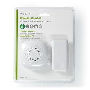 Wireless Doorbell Set | Self powered transmitter | Mains Powered | 36 Melodies