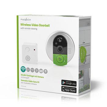 Wireless Video Doorbell | 720p | App Support | Indoor Chime | Live Video & 2-Way Audio