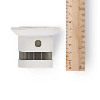 Smoke Detector | EN14604 | 10 year lifetime | Small design