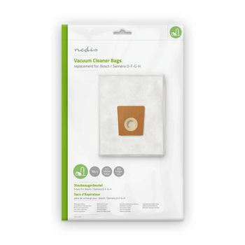 Vacuum Cleaner Bag | Suitable for Bosch / Siemens D-F-G-H