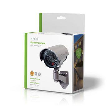Dummy Security Camera   Bullet   IP44   Grey