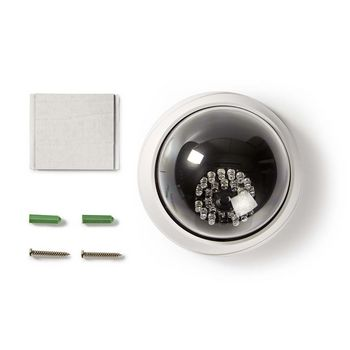 Dummy Security Camera | Dome | White