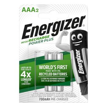 Ricaricabili NiMH Batteria AAA 1.2 V Power Plus 700 mAh 2-Blister