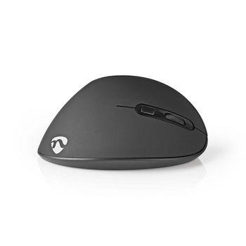 Ergonomic Wireless Mouse | 1600 dpi | 6-Button | Black