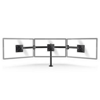 Ergonomic Monitor Mount | Triple Monitor Arm | Full Motion | Black