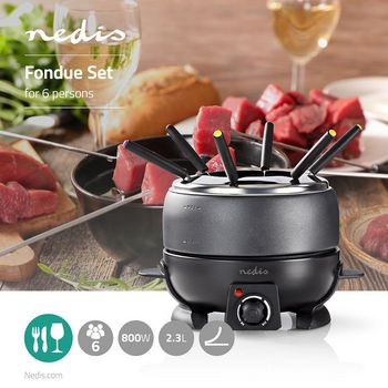 Fondue Set | 6-People | 2.3 L