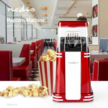Macchina per il Popcorn | Aria Calda | 1200 W