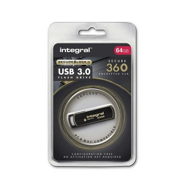 64GB Secure 360 USB3.0 Flash Drive |
