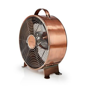 Retro Desk Fan | Diameter 25 cm | 2-Speed | Copper