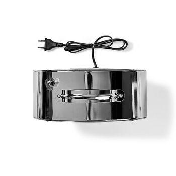 Retro Desk Fan | Diameter 25 cm | 2-Speed | Chrome
