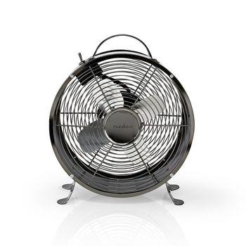 Retro Desk Fan | Diameter 25 cm | 2-Speed | Gunmetal