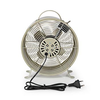 Retro Desk Fan | Diameter 25 cm | 2-Speed | Grey