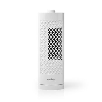 Desk Tower Fan | Height 30 cm | 3-Speed | Oscillation | White