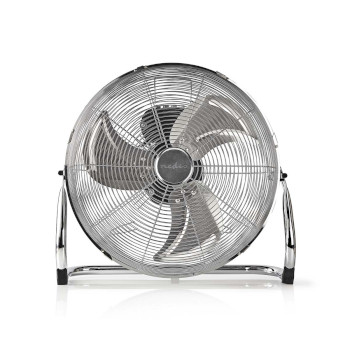 Floor Fan | 40 cm Diameter | 3-Speed | Chrome