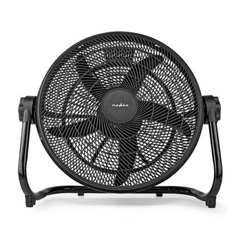 XL Floor Fan | 50 cm Diameter | 3-Speed | Black