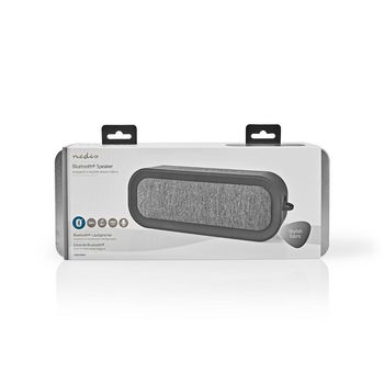 Fabric Bluetooth® Speaker | 30 W | Up to 6 Hours Playtime |Waterproof | Anthracite / Black
