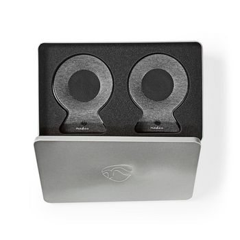Fabric Bluetooth® Speaker | 2x 15 W | Up to 4 Hours Playtime | True Wireless Stereo (TWS) | Anthracite / Black