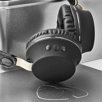 Bluetooth®-stofhovedtelefoner | On-ear | 18 timers spilletid | Antracit/sort