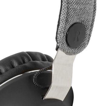 Cuffie Bluetooth® in Tessuto | Cuffie a Padiglione Aperto | 18 Ore di Riproduzione | Grigio / Nero
